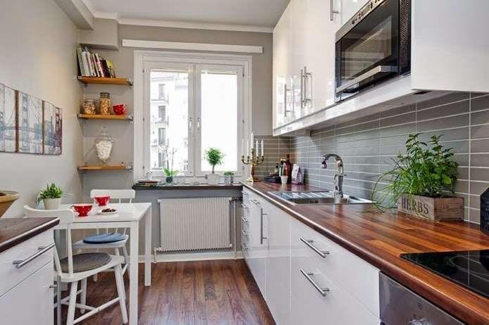 Come Arredare Una Cucina Lunga Le Idee Di Stile Progetti Di Cucine Arredo Interni Cucina Arredamento