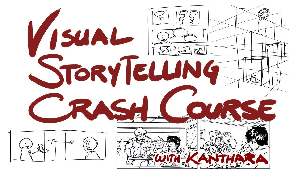 Visual Storytelling Crash Course  Storyboard  Animatics