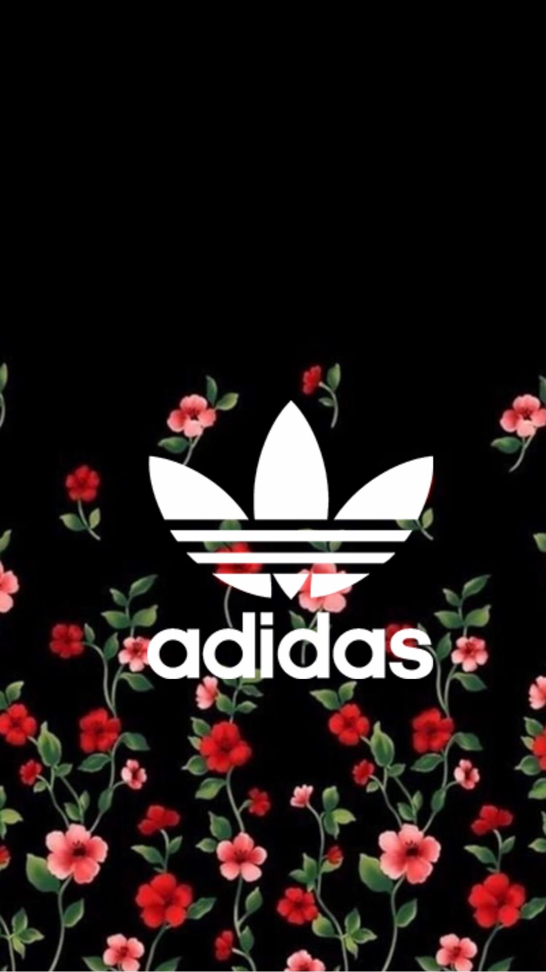 Adidas Floral Adidas Wallpapers Adidas Wallpaper Iphone