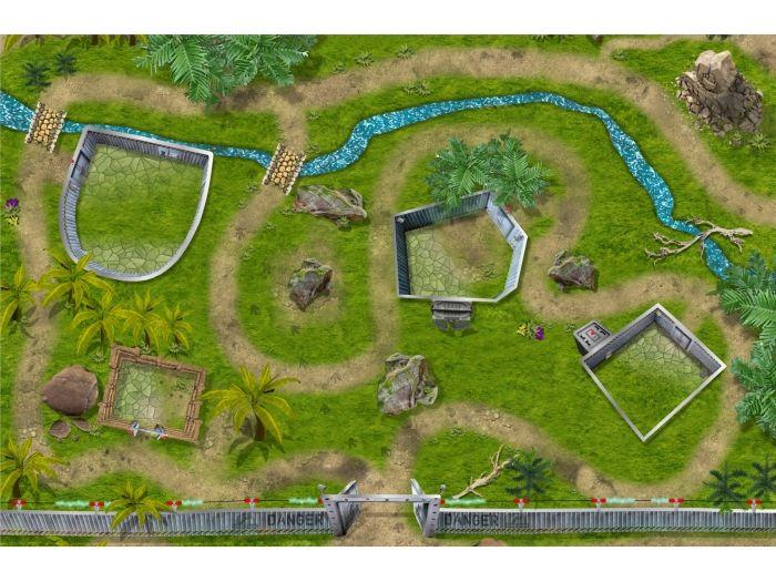 Elegant Dino Park Spielmatte Spielteppich f r das Kinderzimmer