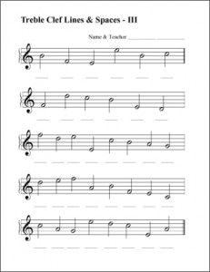 Ejercicios De Lectura Clave De Sol Y Clave De Fa Keyboard Music