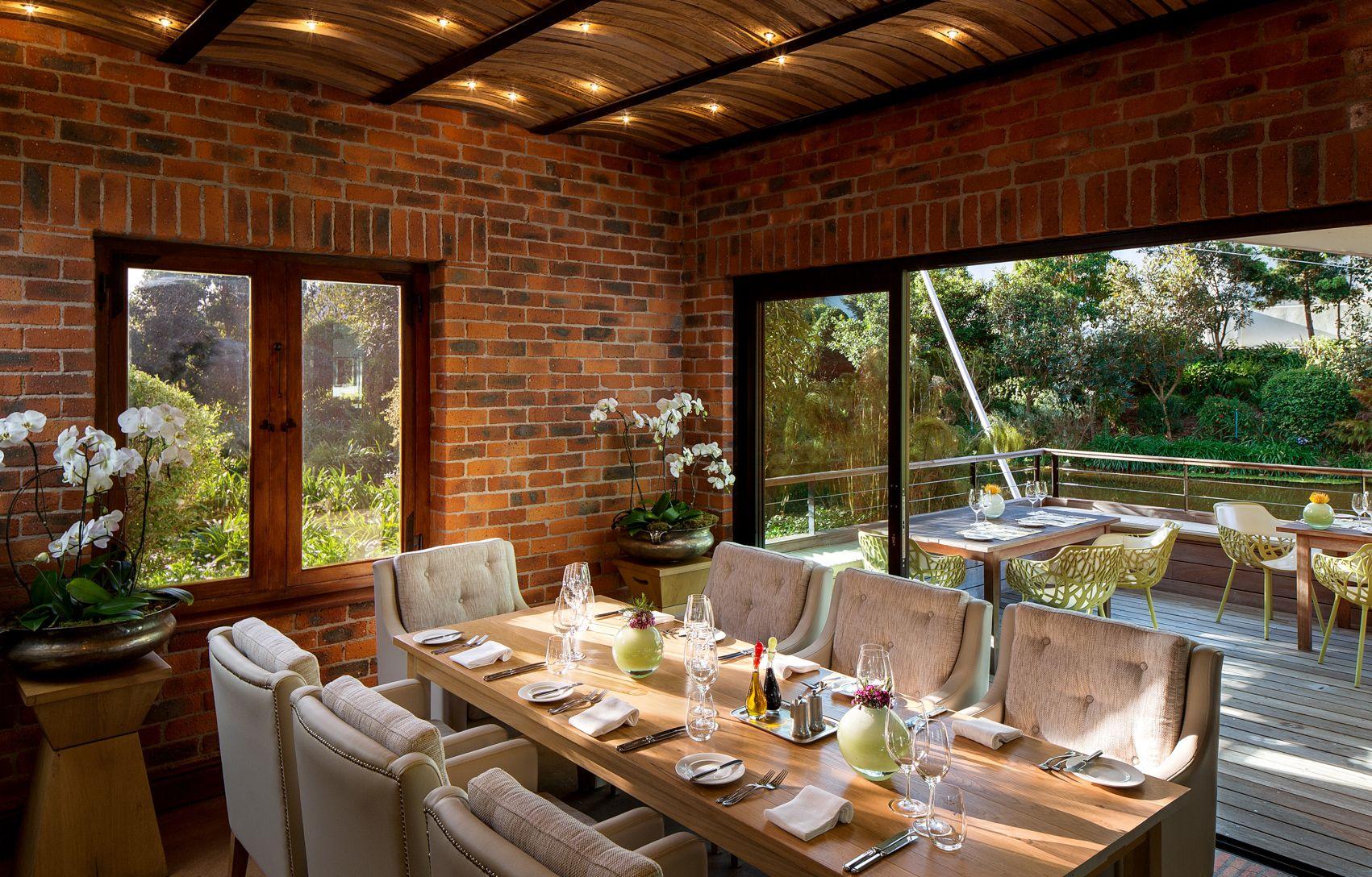 Pierneef A La Motte Inside Out Restaurant Design Outdoor Decor Decor