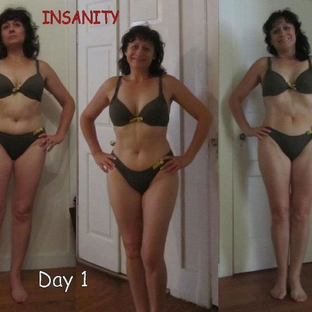 This is what 28 days of Insanity can do!!