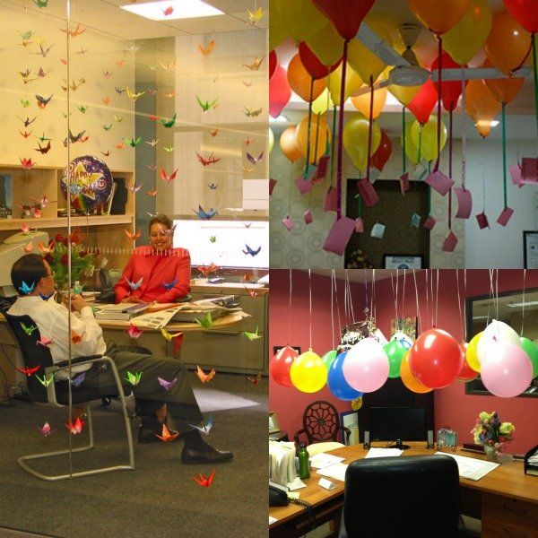 List Of Birthday Surprise Ideas For Boss Office Birthday