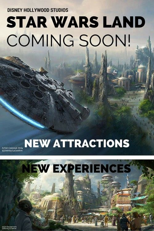 Preview of Star Wars Landing coming to Walt Disney World's Hollywood Studios