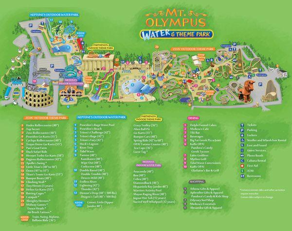 Mt Olympus Water Park