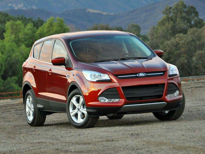 2014 Ford Escape Titanium White Platinum Automobile Magazine Ford Escape Ford Ford Kuga