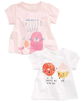 First Impressions Baby Clothes New First Impressions Baby Girls' Graphic Top Baby Clothes Girl U