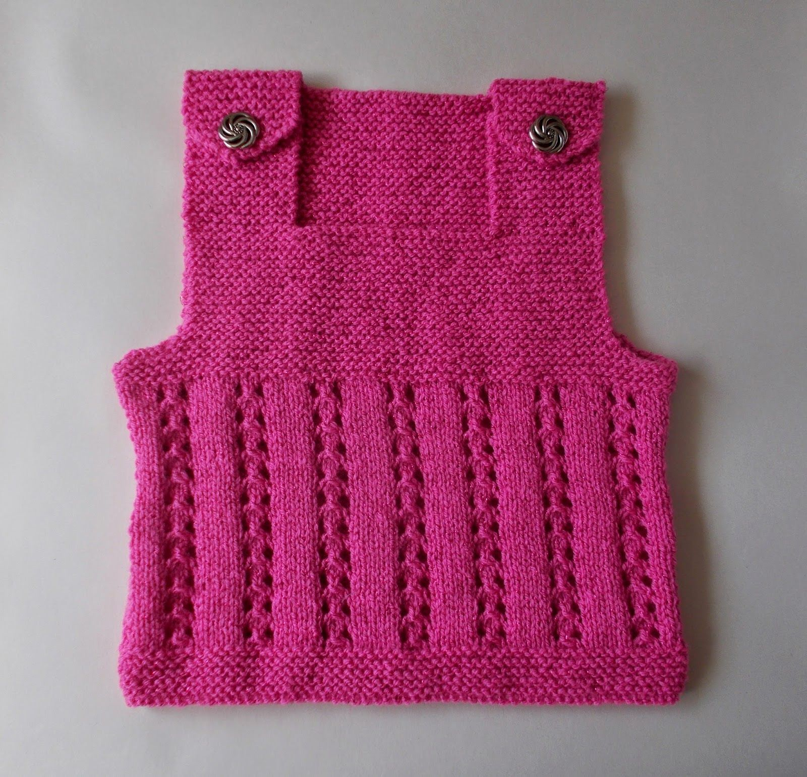 marianna\'s lazy daisy days - Lacy Vest Top - Child | Knitting - and ...