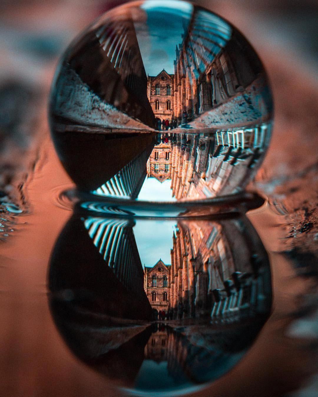 Фото с отражением