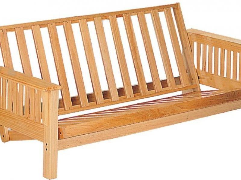 Futon Coaster Natural Wood Futon Frame Wood Futon Frame