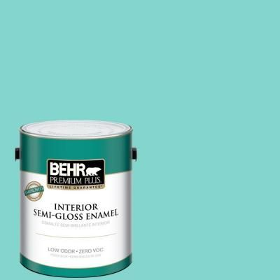 Visit The Home Depot To Buy BEHR Premium Plus Home Decorators Collection  Island Oasis Semi Gloss Enamel Interior Paint 340001