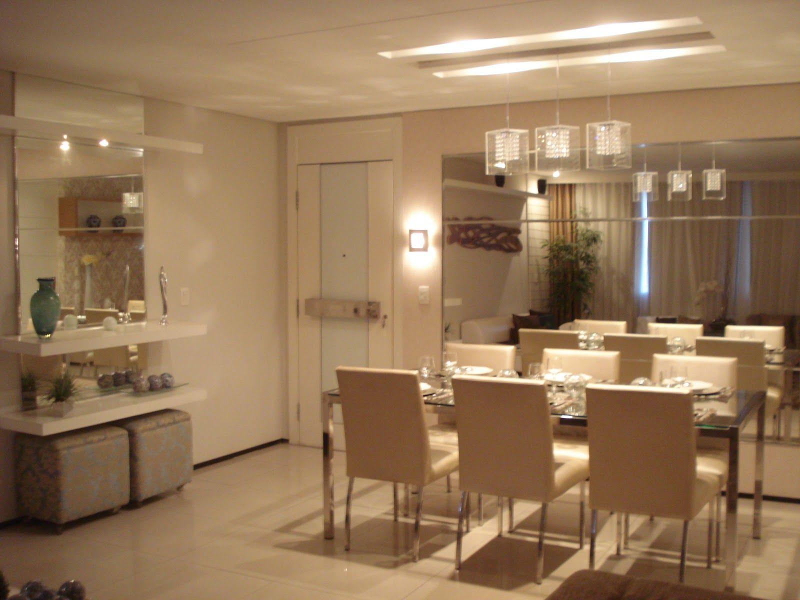 Armario Para Lavanderia Planejado ~ Sala de jantar com aparador elegante So Sweet Decor Pinterest