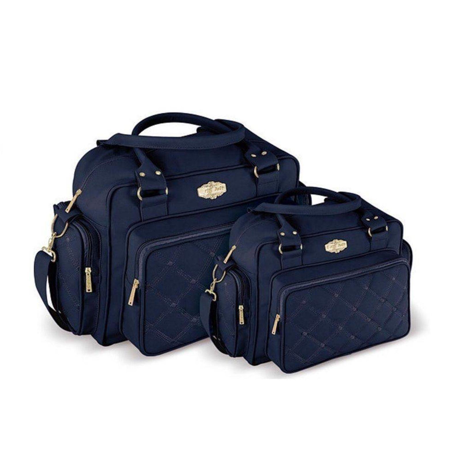 Kit Bolsa grande e mochila maternidade personalizado Menino