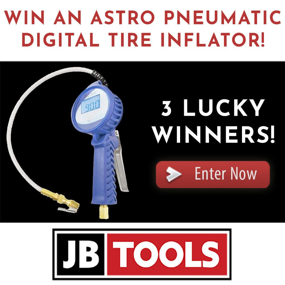 Enter to win an astro pneumatic digital tire inflator from