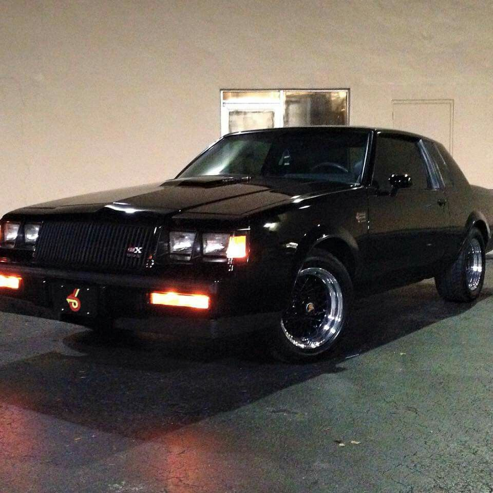 Gnx Clone Buick Grand National Gnx Buick Grand National Buick Cars