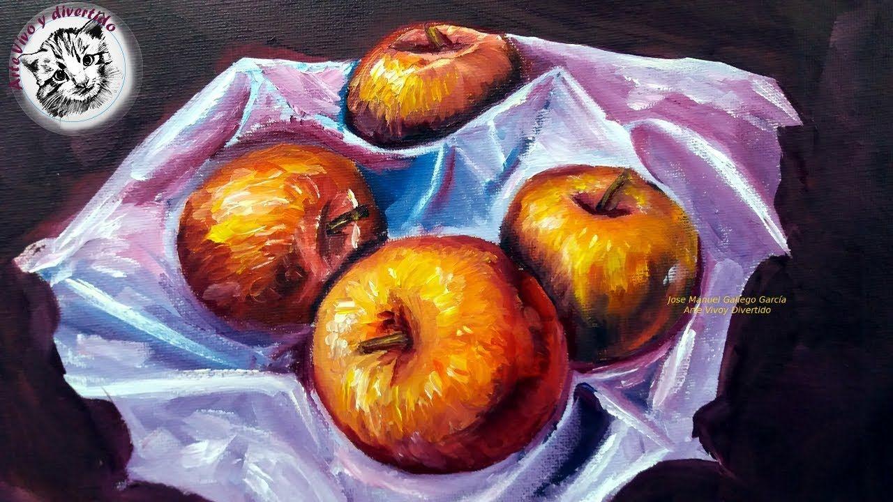 Como Pintar Al Oleo Para Principiantes 4 Como Pintar Un Bodegon Al Ole Como Pintar En Oleo Como Pintar Tecnicas De Pintura Oleo
