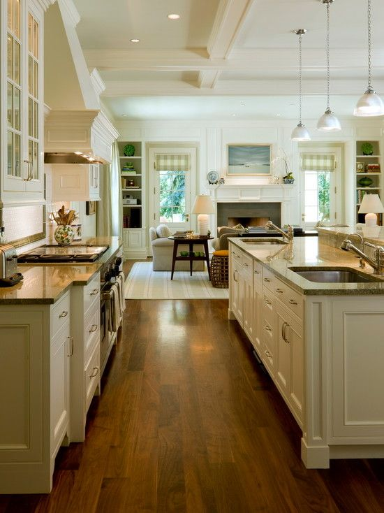 Best Kitchen Floor Plans Following The Surrounding Environment Traditional Kitchen In Wooden Layered Kitchen Floor Plans Dominat Home Home Kitchens Home Decor
