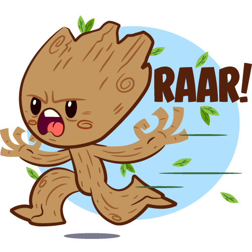 Guardians of the galaxy vol2 facebook stickers on behance