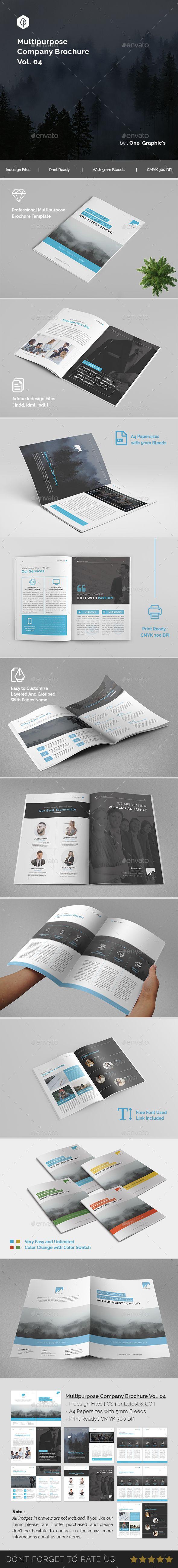 Multipurpose Corporate Brochure Template Vol   Brochure