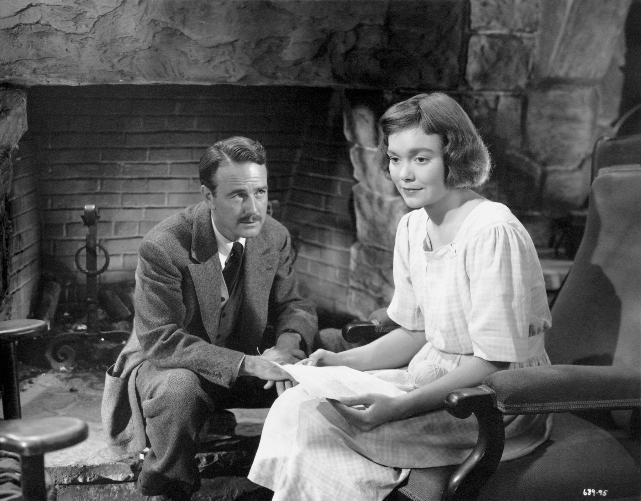 Image result for JANE WYMAN and lew ayres in johnny belinda