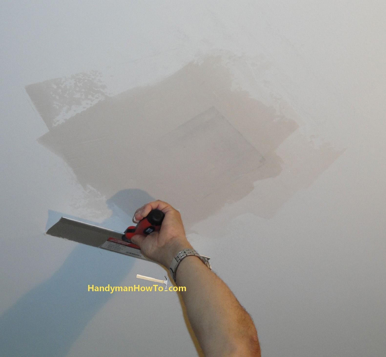 How to Repair Drywall Ceiling Water Damage Install the
