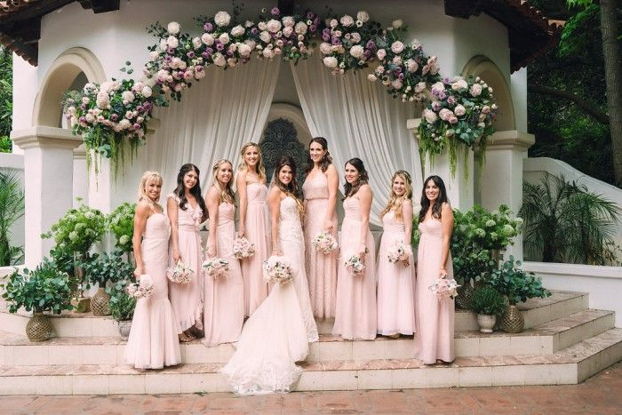 AN INTERTWINED EVENT: BOHO WEDDING AT RANCHO LAS LOMAS | Intertwined Weddings & Events |  Jim Kennedy Photographers   Rancho Las Lomas Wedding, Orange County Wedding, Wedding Florals, Blush Wedding