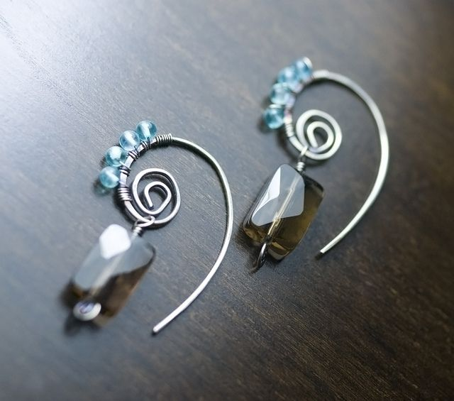 no hook earring - will have to try this...