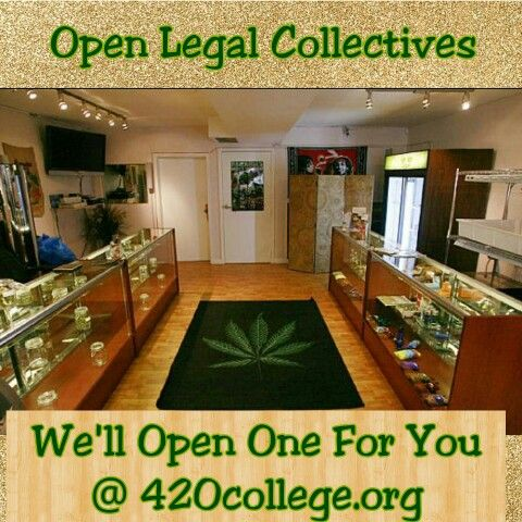 http://420college.org #OpenLegalCollectives #CannaBusiness #Education