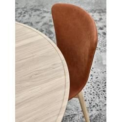 Photo of Mater Accent Dining Table Esstisch Eiche matt lackiert, Ø 140cm, H 73cm Mater