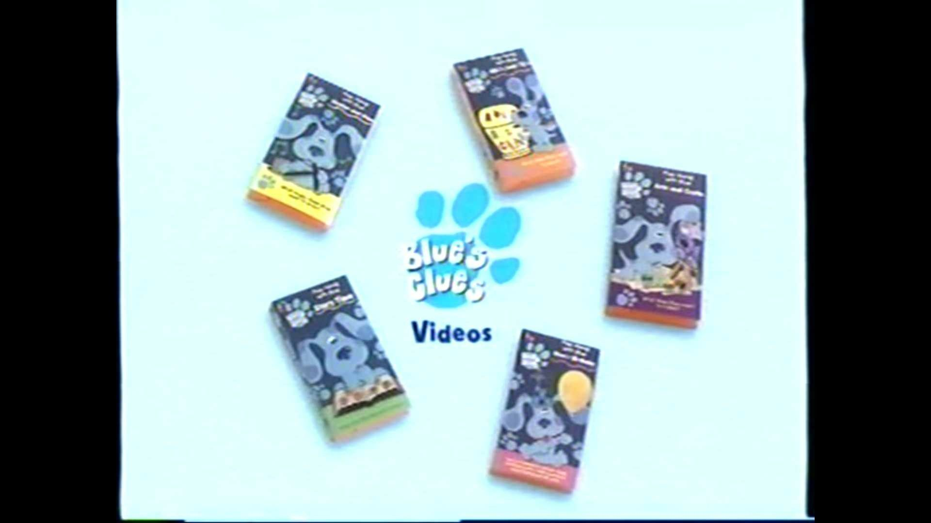 blue u0027s clues videos promo blue u0027s clues big blue and just for you