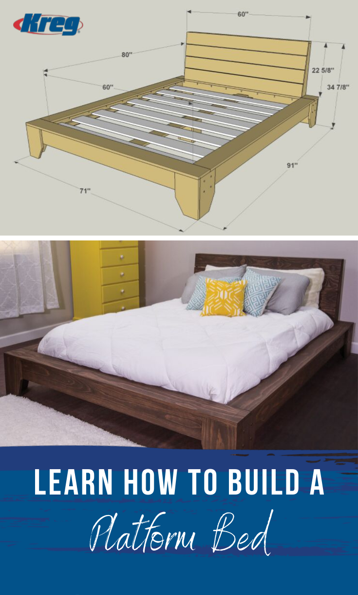 how to make a platform bed more sturdy