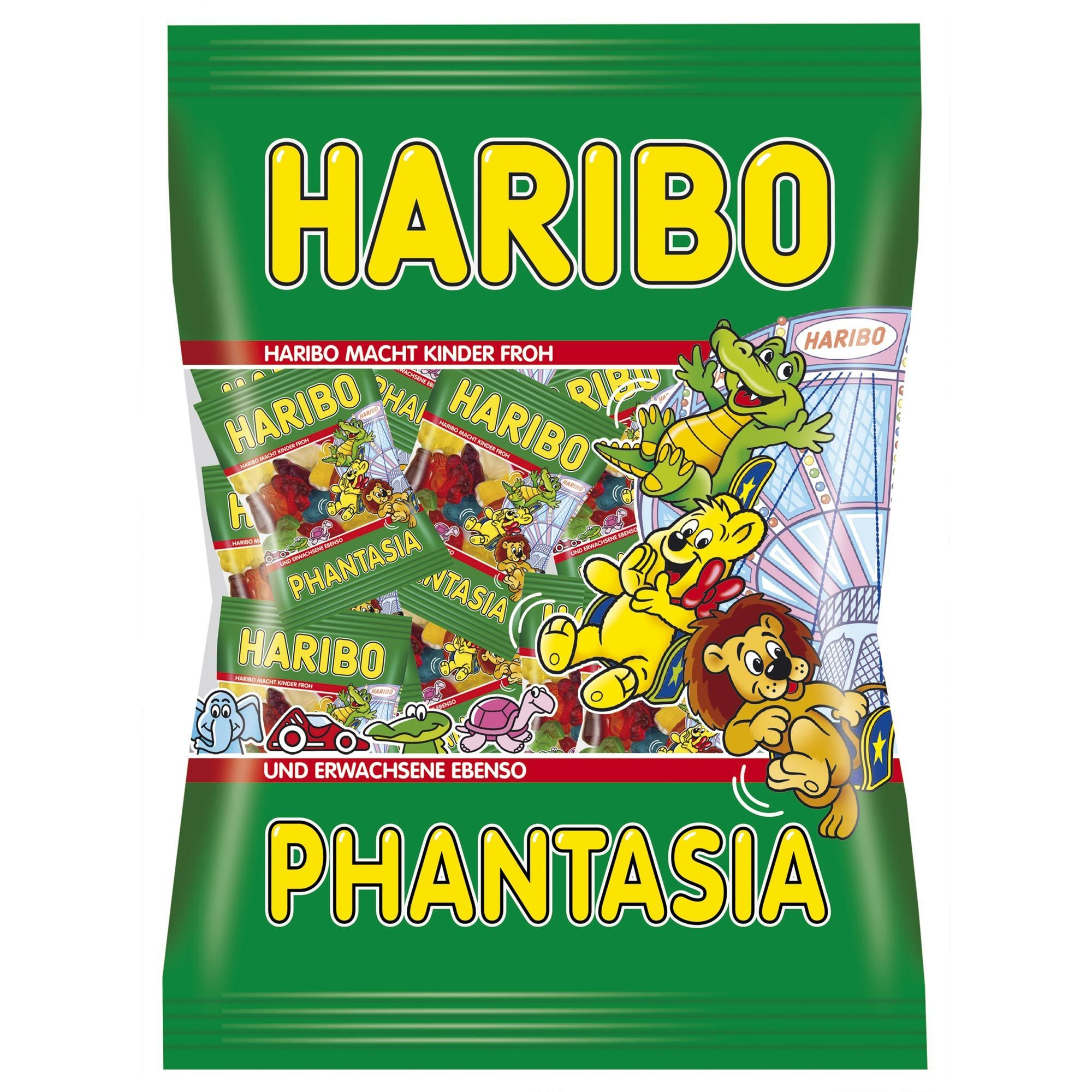 Haribo gummy bears are just one of many products that thomas -  In Usa Haribo Phantasia Mini Bags Gummy Bears
