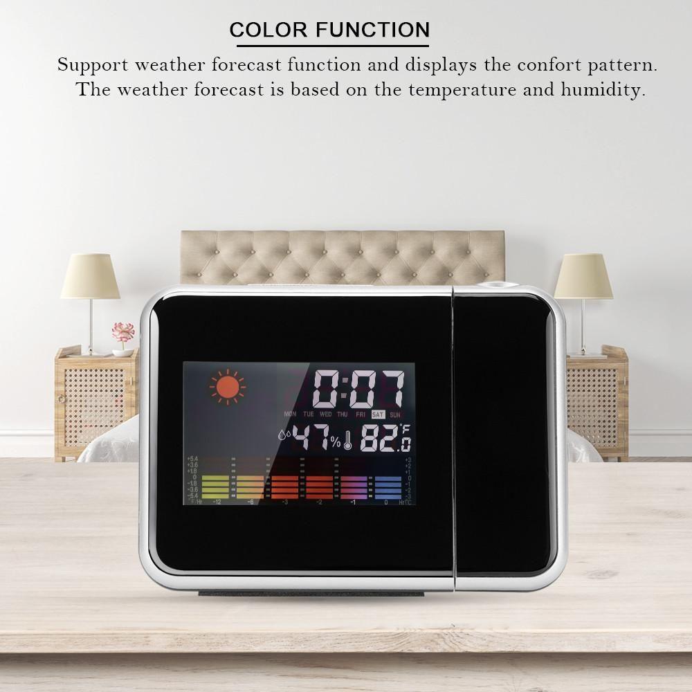 Multi function LED Digital Alarm Clock Light Table