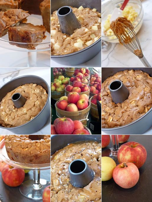Toffee Apple Cake~  All the apple goodness with a douse of naughty