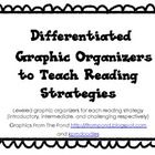 Differentiated Graphic Organizers to Teach Reading (Common Core Aligned)