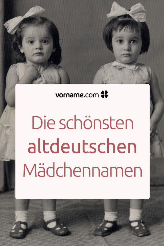 Bezaubernder Vintage-Charme: 54 altdeutsche Mädchennamen #babynamesboy