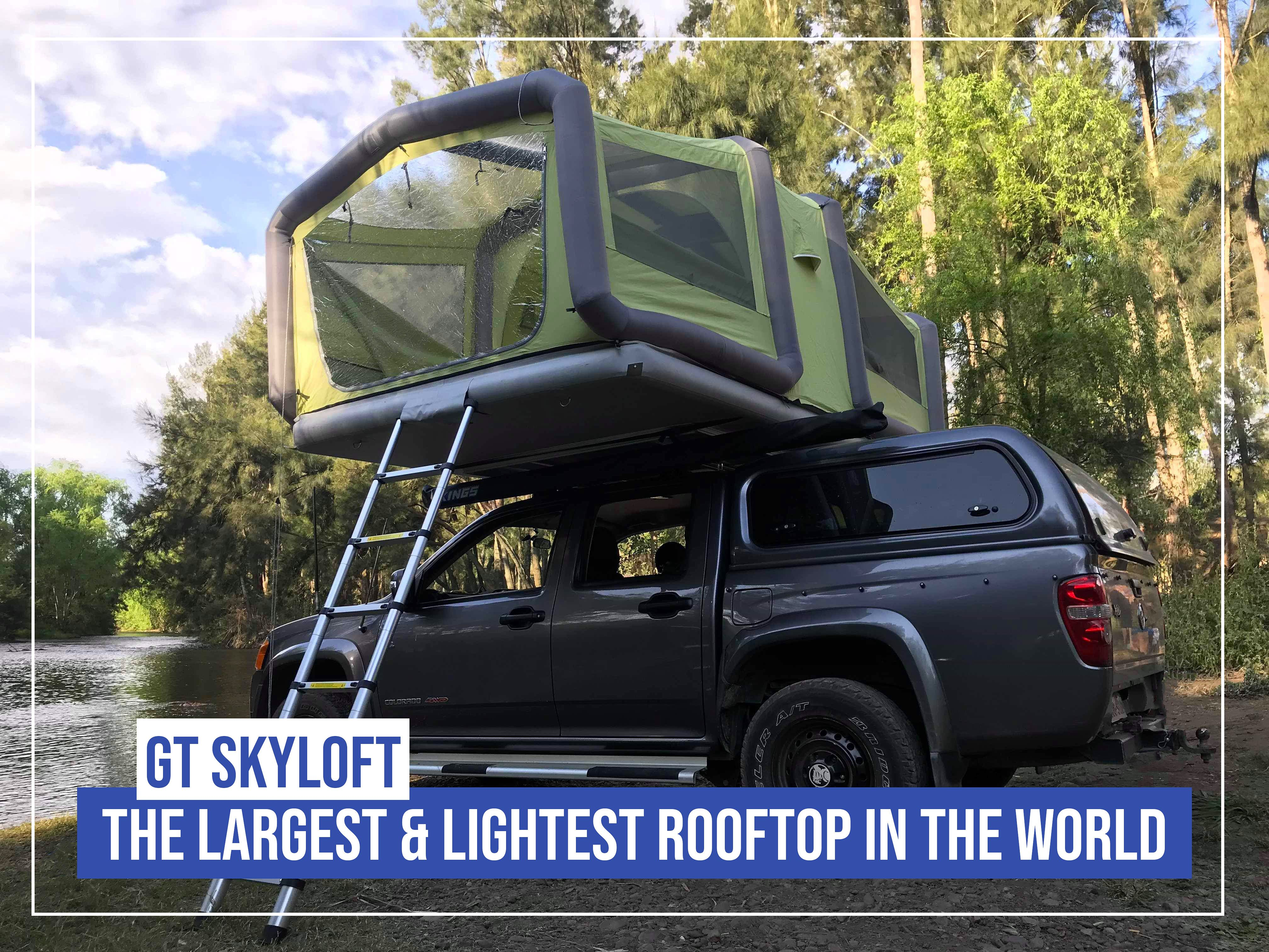 It S Officially Here The Gt Sky Loft Has Hit Our Australian Shores We Are So Excited To Release This Product Soon And Can Roof Top Tent Sky Ceiling Australia