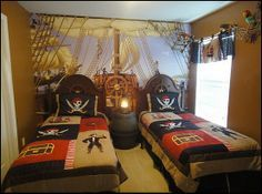 Pirate Themed Bedroom Ideas - Home Design