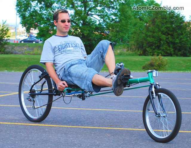 You Can Build Your Own Recumbent Bike In A Weekend Bike