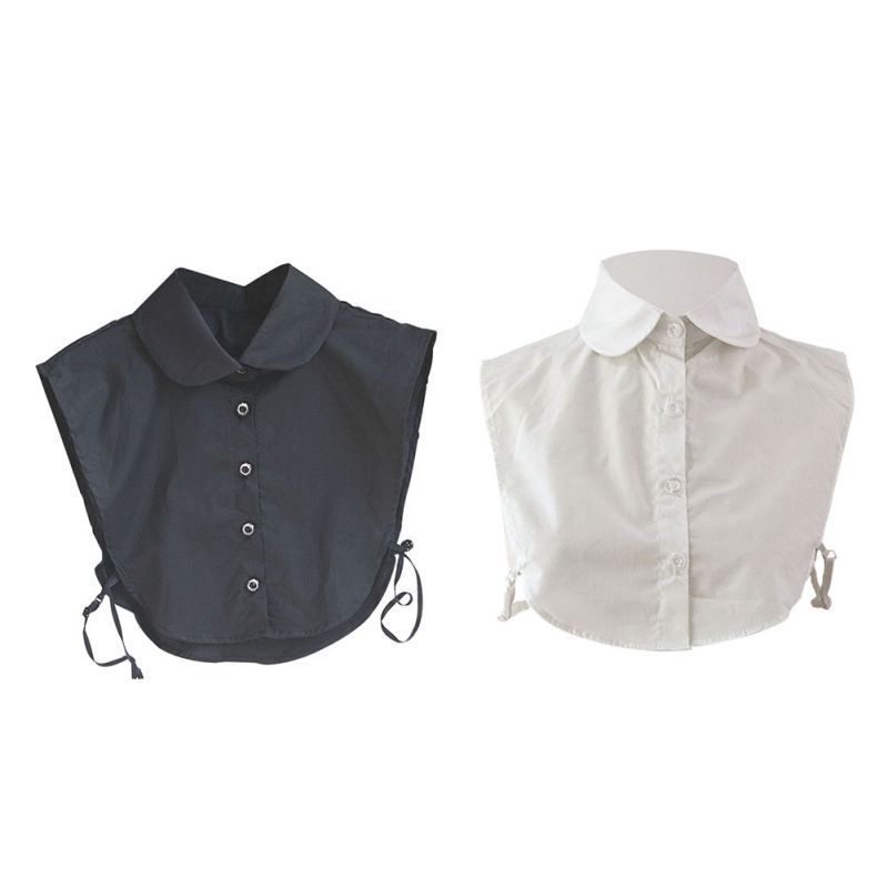 Necklace Fashion False Choker Vintage Detachable Fake Shirt Collar Lapel Ladies