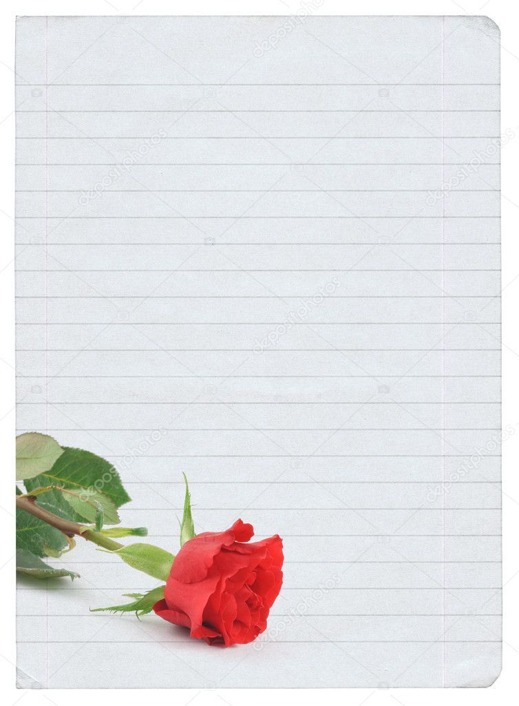 Blank Love Letter Royalty Free Stock Photos Aff Letter Love