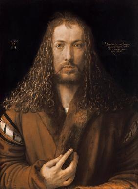 Albrecht Dürer - Selbstbildnis