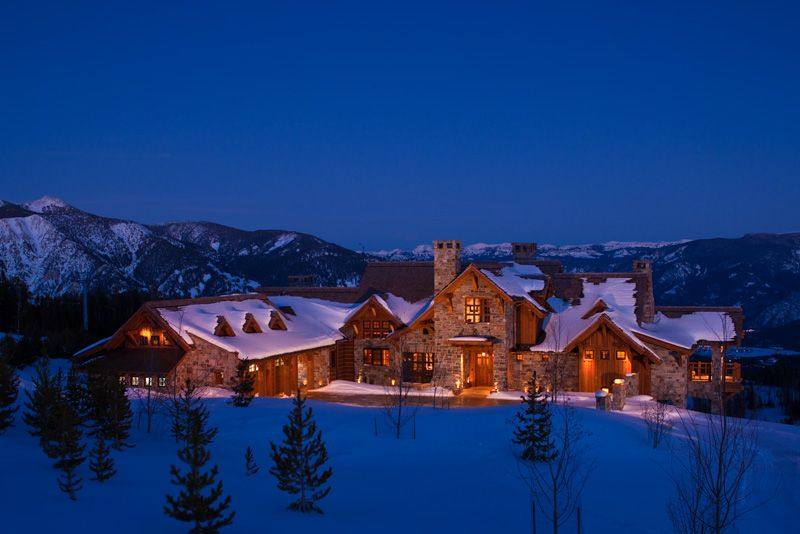 Amazing Timber House Expensive Houses Winter House