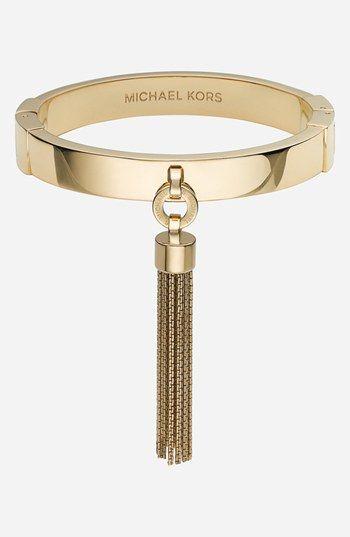 Michael Kors Seaside Luxe Tassel Bangle, $145