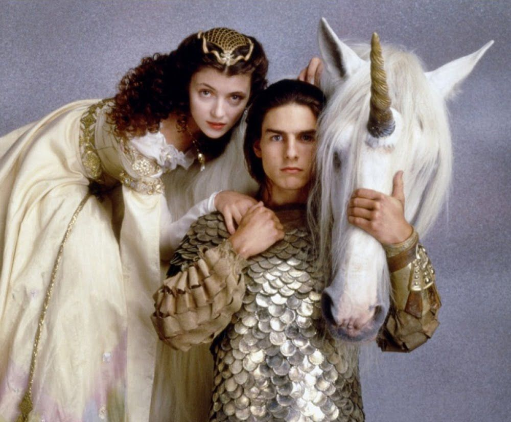 Legend i loved tom cruise as a fairy boy do you beleive in unicorns