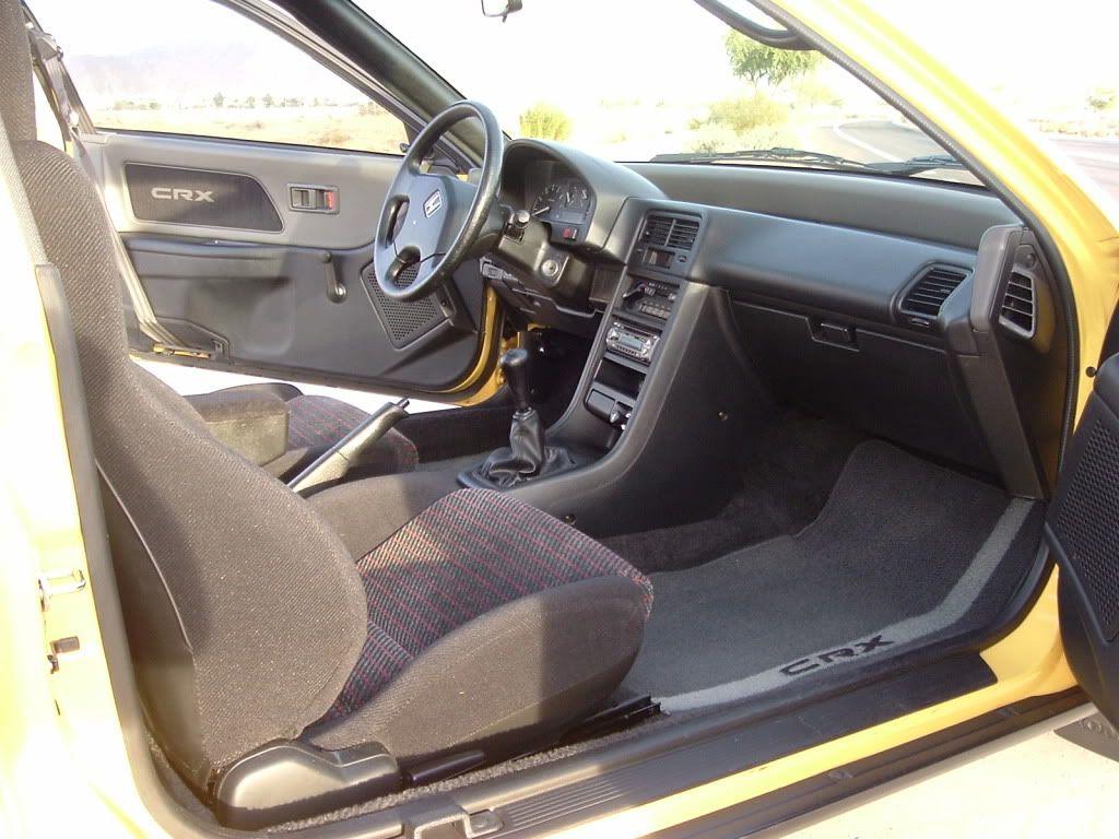 1990 honda crx si interior roomiest small car ever [ 1024 x 768 Pixel ]