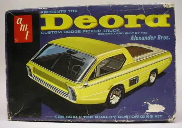 Amt Dodge Deora Show Car Model Kit Model Kits Pinterest