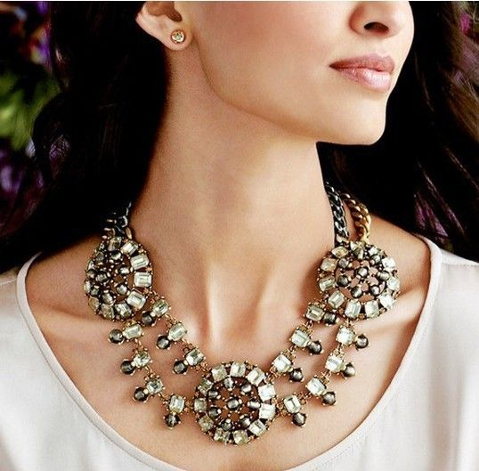 Fashion JC Necklace Women,New Chunky Statement Necklaces