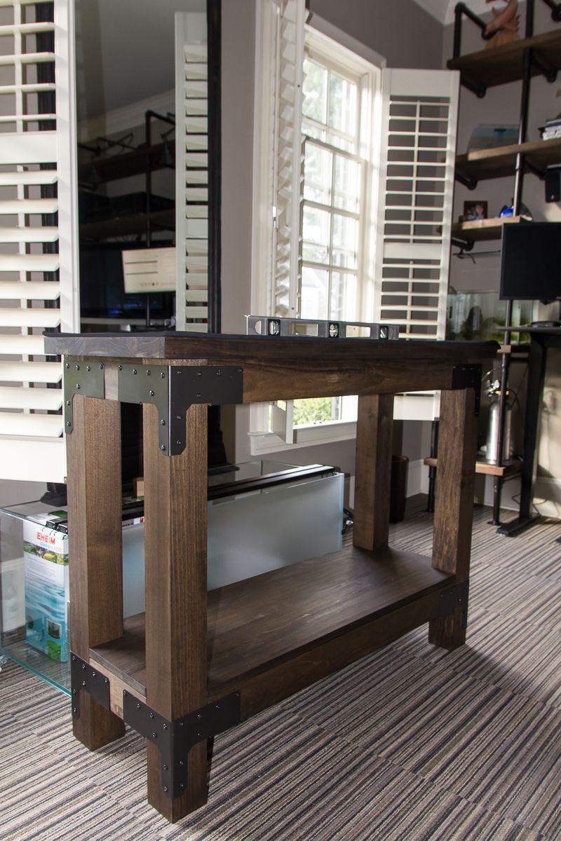Diy Wood Aquarium Stand